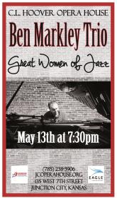 Ben Markley Trio Poster