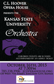 KSU Orchestra Poster