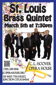 St Louis Brass Poster